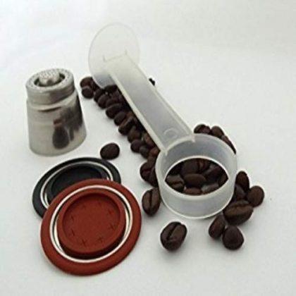 Mista Barista 508887 Refillable Coffee Capsule Suitable for All Nespresso Machines