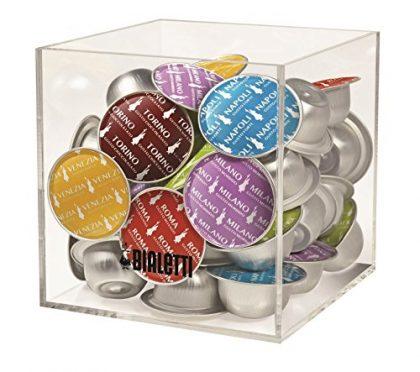 Bialetti Capsule Holder, Cube Coffee Machine Accessory