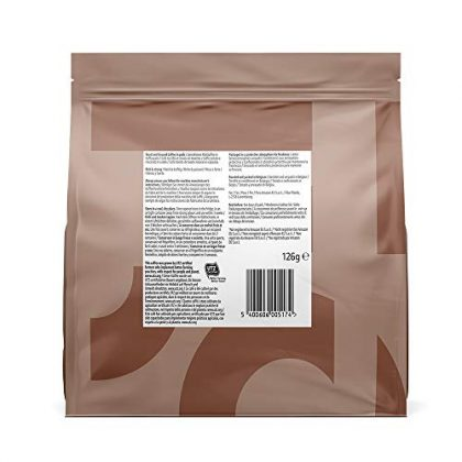 Amazon Brand Solimo Senseo* Compatible pods Strong - UTZ certified, 90 pods (5x18 )