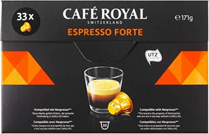 Café Royal Coffee Capsules Compatible with Nespresso System