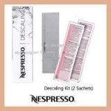 Nespresso Descaling Kit for Essenza, Le Cube, Lattissima, Citiz & Pixie Machines for All Models