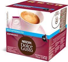 Pods Capsules Dolce Gusto Original Nescafe' Coffee