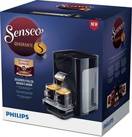Senseo Quadrante hd7865/60Coffee Machine in Capsules 1.2L 8Cups