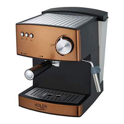 Adler Coffee Machine with 15 bar Pressure