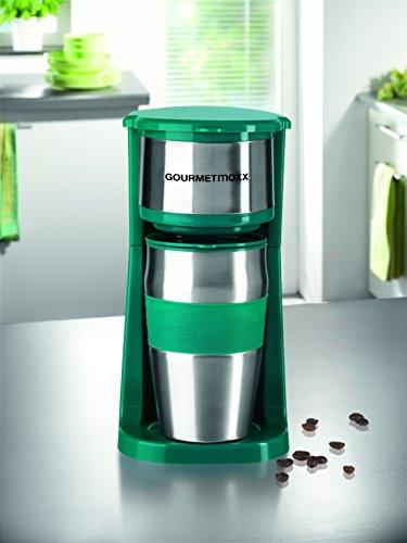 GOURMETmaxx 03103 Coffee Machine with Thermo Cup