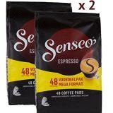 Douwe Egberts Senseo Espresso - 96 Pads, 2x(48) Pack