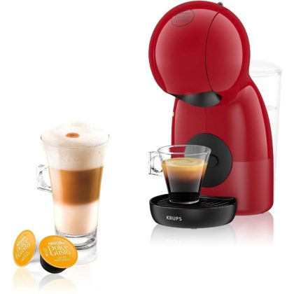 Krups KP1A0540 Dolce Gusto Piccolo XS Pod Coffee Machine - Red