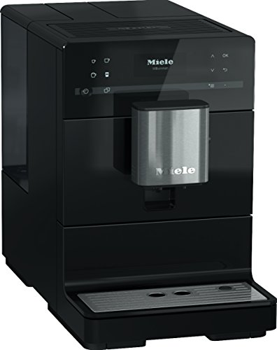 Miele CM 5300 Automatic Bean-to-Cup Coffee Maker - With OneTouch for Two, aroma-preserving cone grinder, coffee pot…