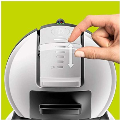 KRUPS NESCAFE Dolce Gusto Gusto Mini Me Automatic Play and Select Coffee Capsule Machine, Grey/Black - KP123B40