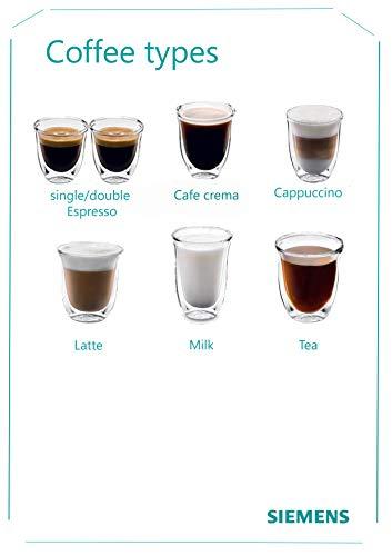 Siemens EQ.3 s500 TI305206RW Bean to Cup Automatic Coffee Machine - Black
