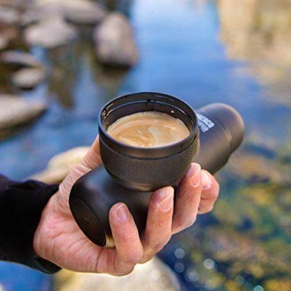 WACACO Minipresso NS, Portable Espresso Machine, Compatible with NS Capsules (Nespresso Original Capsules and…