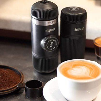 WACACO Nanopresso Barista Kit, Accessory for Allowing Nanopresso Machine to Prepare Lungo or Double Espresso