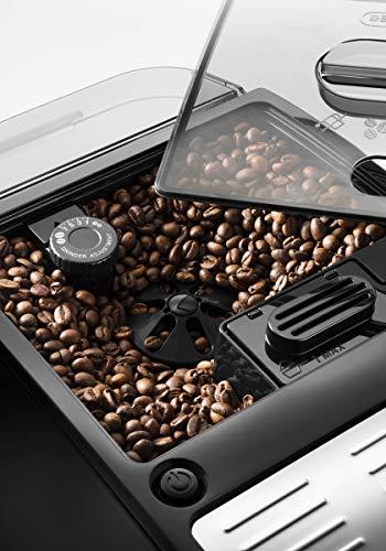 De'Longhi Autentica, Automatic Bean to Cup Coffee Machine, Cappuccino and Espresso Maker, ETAM 29.510.B, Black