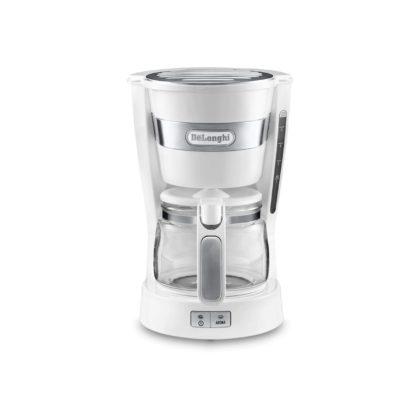DeLonghi ICM14011.W Active Line Filter Coffee Machine White