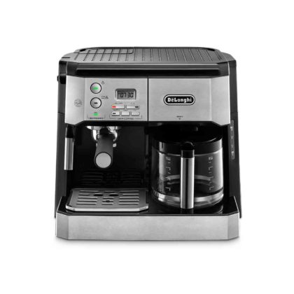 Delonghi BCO431.S Combined Espresso & Filter Coffee Machine - Stainless Steel